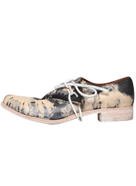 Tie-Die Foldover<br>Calf Leather