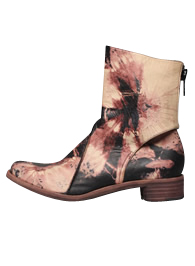 Btd Zip Back Boot<br>Tye Dye Calf