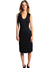 Future Basic Racer Back Dress<br>Trademarked Cotton